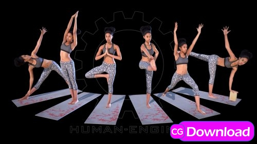 Download Free 3d Templates Characters 3d Building And More Download Human Engine Yoga 001 Bundle Free Download Free 3d Templates Characters 3d Building And More